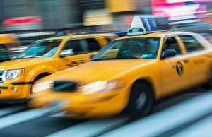 NYC New York taxi cabs