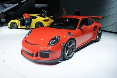 Porsche 911 GT3 RS, Geneva Motor Show 2015