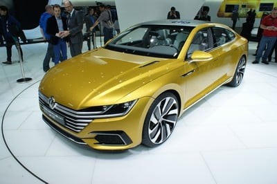 Volkswagen Sport Coupé GTE concept, Geneva Motor Show 2015