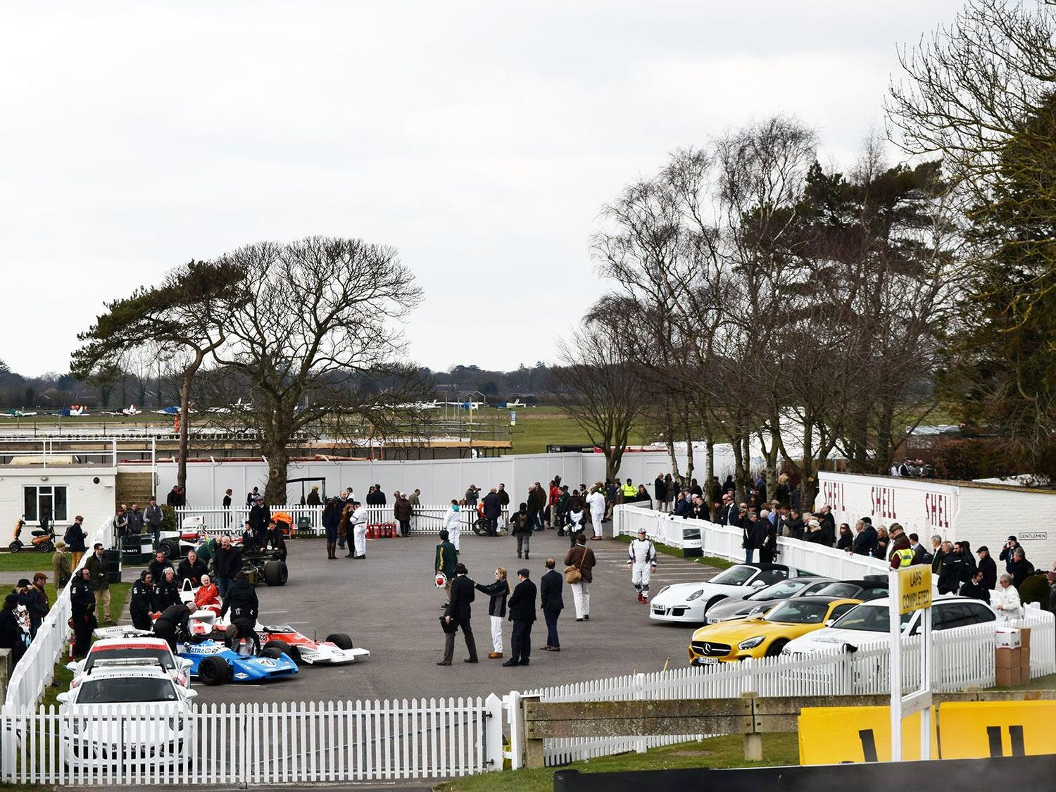 1970s F1 cars prepare to hit the track at the 73rd Goodwood Members' Meeting