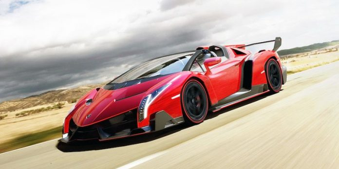 The Lamborghini Veneno is reportedly the most expensive car in the world.