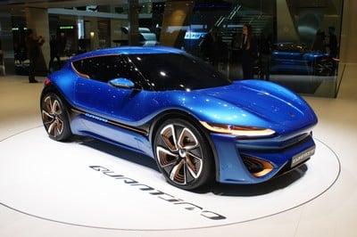 nanoFlowcell Quantino, Geneva Motor Show 2015