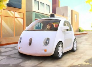 Google self-driving driverless car prototype 2015