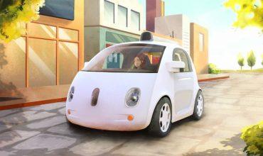 Google self-driving driverless car prototype 2015