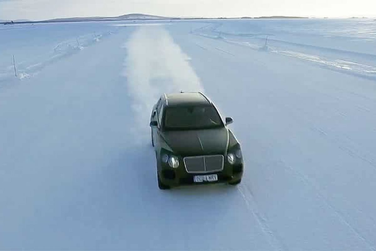 Bentley gets closer to unveiling SUV