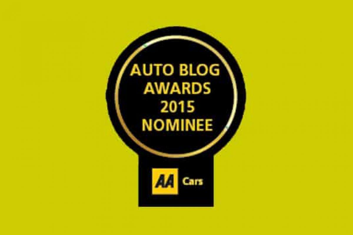 AA Cars Auto Blog Awards 2015