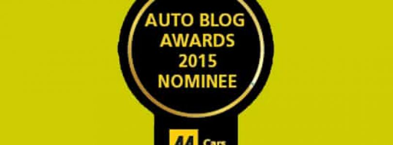 AA Cars Auto Blog Awards 2015