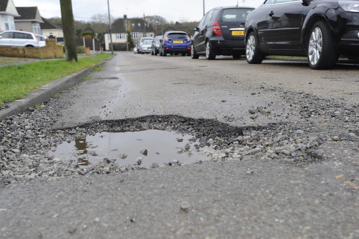 Potholes are a massive problem on UK roads, and getting worse each year