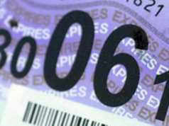 VED tax disc UK