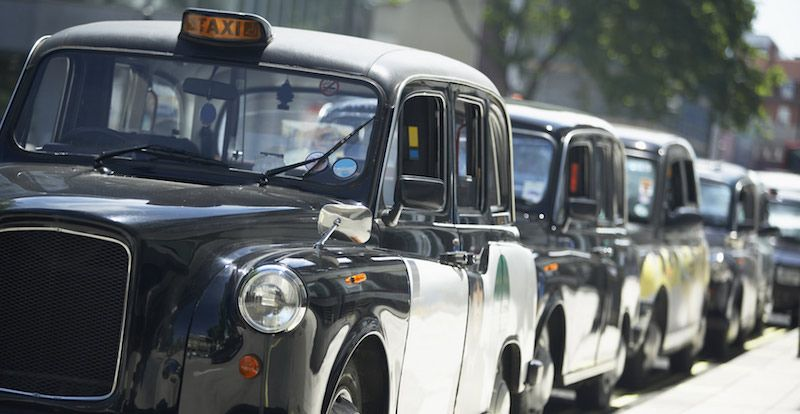A typical London black cab produces far higher levels of emissions than a passenger car