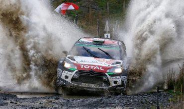2015 Team Citroen DS3 WRC rally car