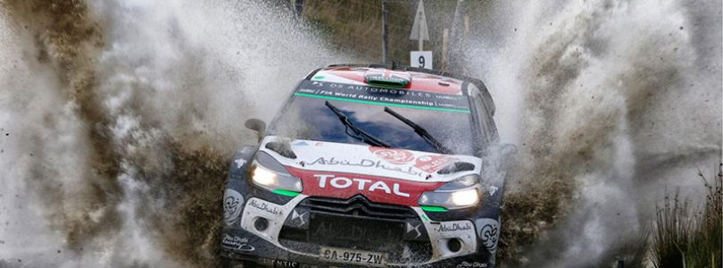 2015 Team Citroen DS3 WRC rally car