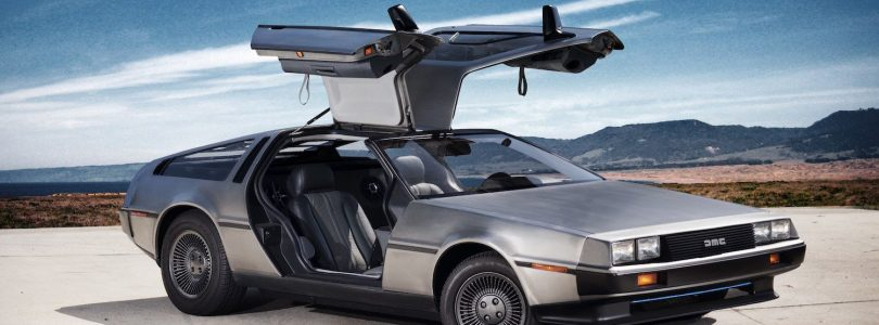DeLorean DMC-12 gullwing doors
