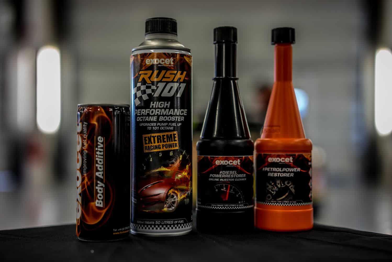 Exocet's automotive product range