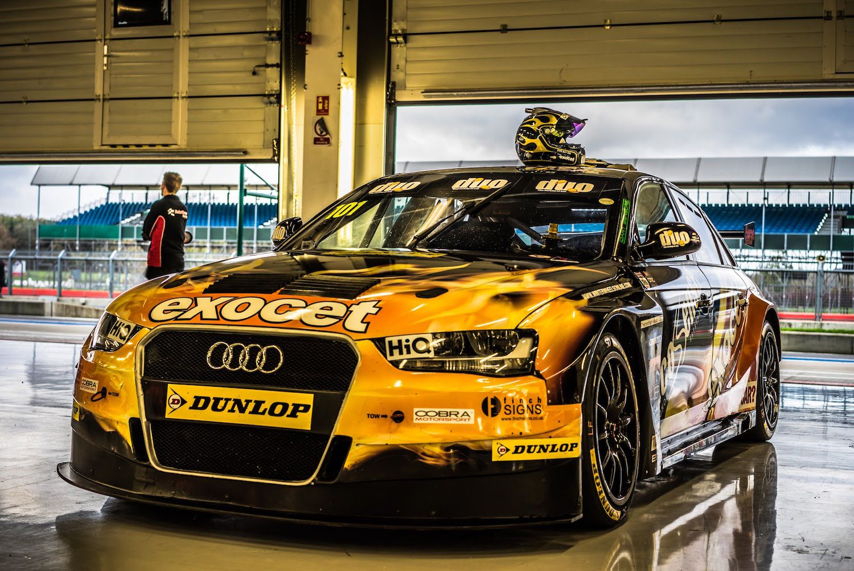 Rob Austin Racing, Exocet Audi A4 BTCC, Silverstone