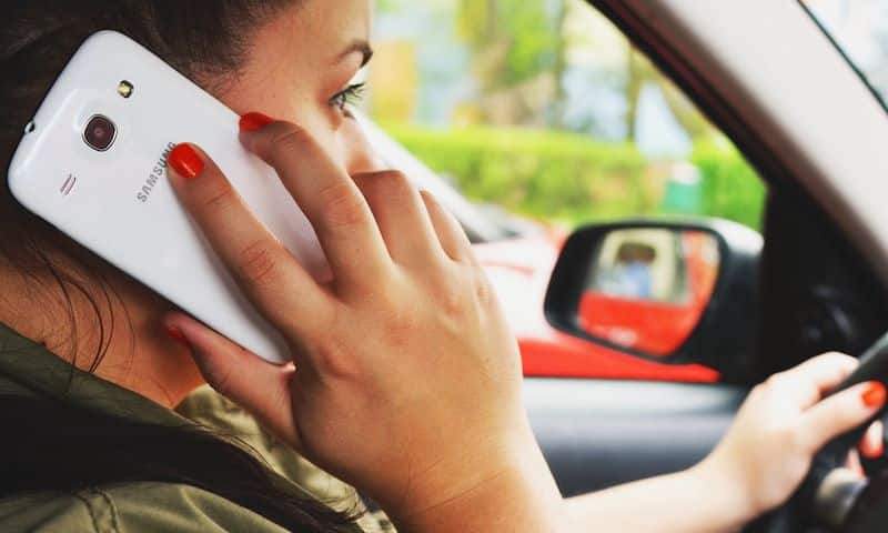 The use of mobile phones while driving is increasing on UK roads