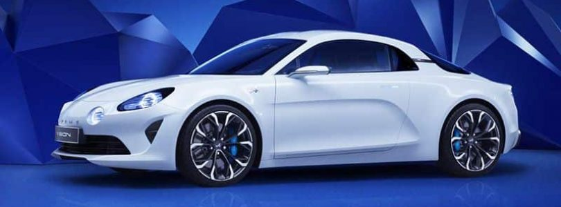 Alpine Vision concept car 2016