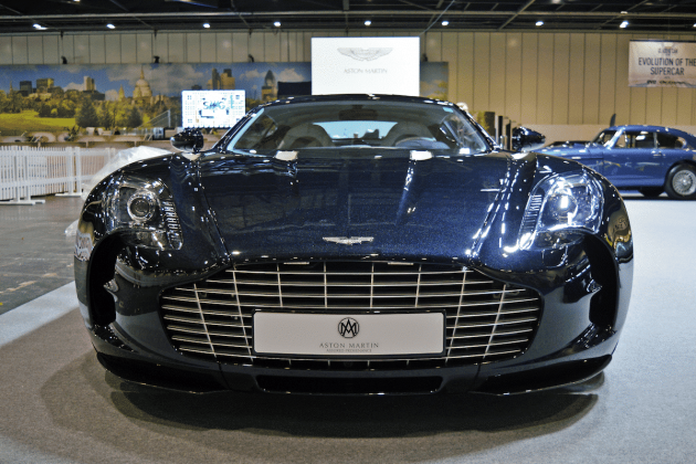 Aston Martin One-77 at the 2016 London Classic Car Show