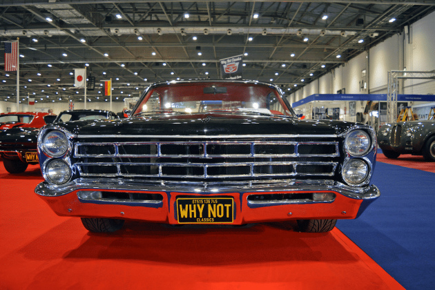 Pontiac GTO at the 2016 London Classic Car Show