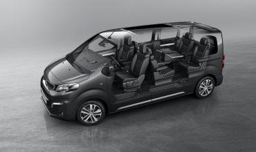 Peugeot Traveller MPV cutaway