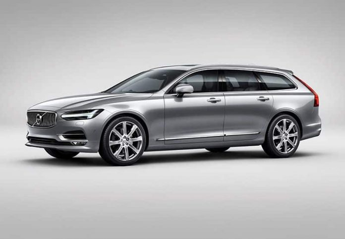 Volvo V90 flagship estate to debut in Geneva 1