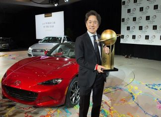 Mazda MX-5 wins World Car of the Year 2016