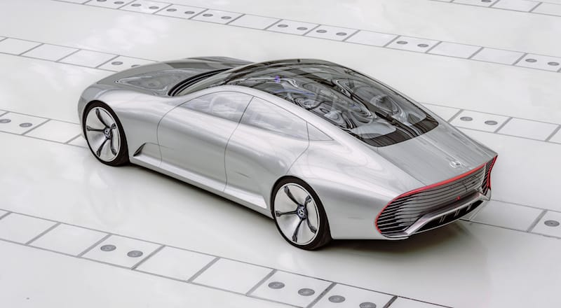 Mercedes-Benz Concept IAA future car