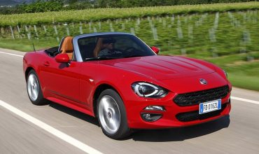 Fiat's MX-5-rivalling 124 on sale at £19.5K