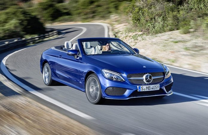 First C-Class Cabrio on roads in September 1