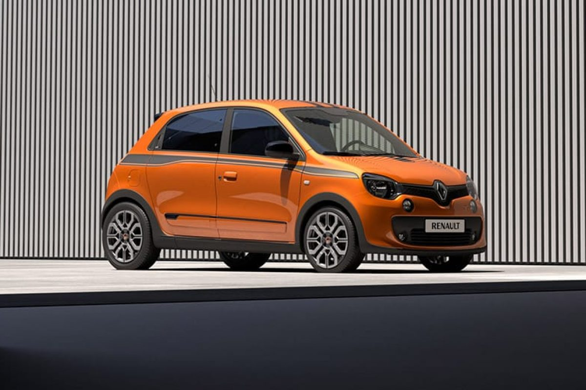 Pumped up Renault Twingo heads to Goodwood