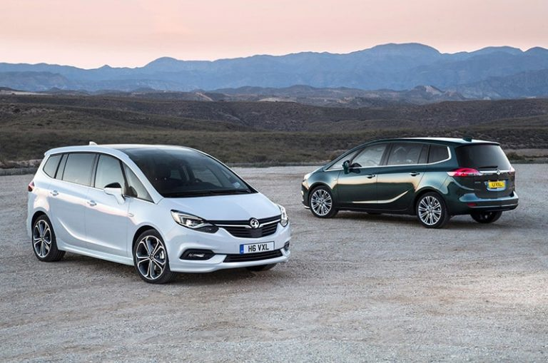 Style and tech upgrades for Zafira Tourer