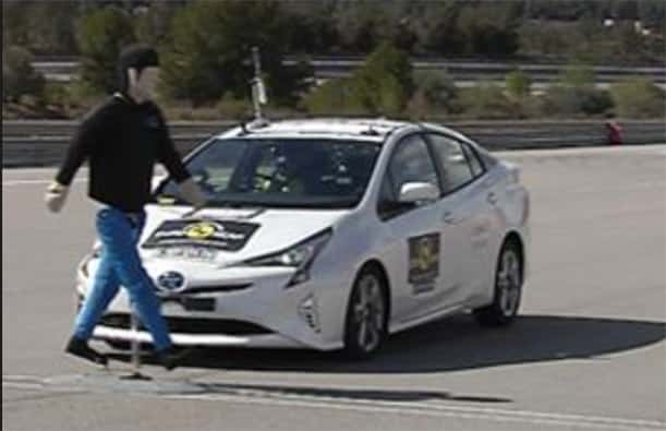 Five-star Prius pioneers new safety test