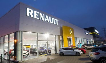 Renault dealership amid sales slowdown
