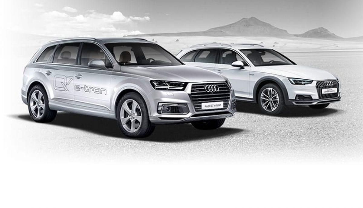 Audi Q7 e-tron and A4 allroad - Vorsprung durch Technik still applies