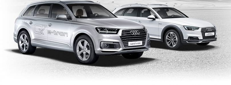 Audi Q7 e-tron and A4 allroad - Vorsprung durch Technik still applies