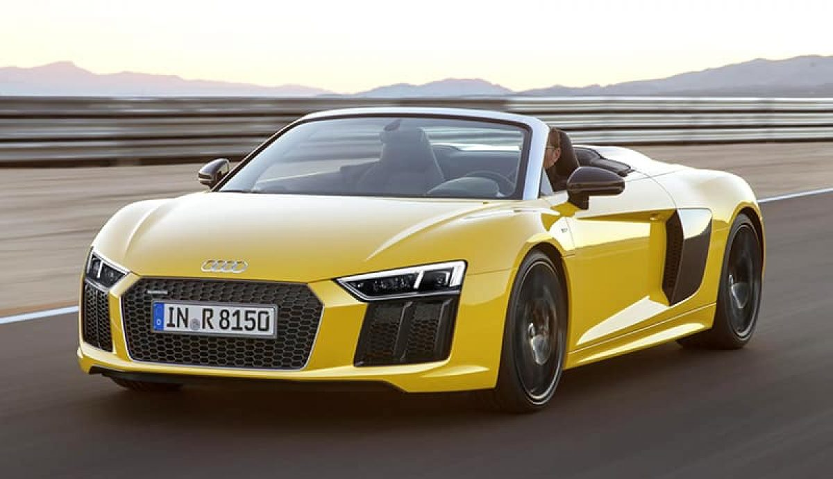 £130K buys Audi's latest R8 drop-top
