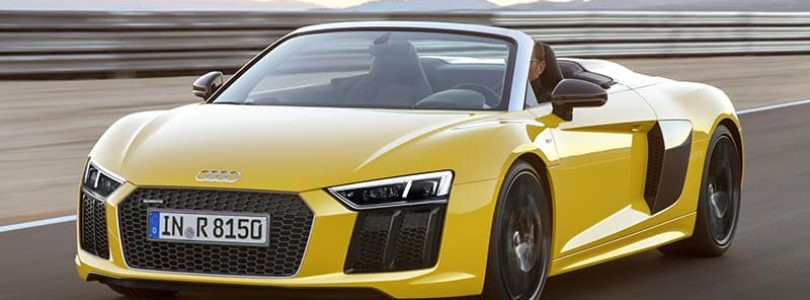 £130K buys Audi's latest R8 drop-top