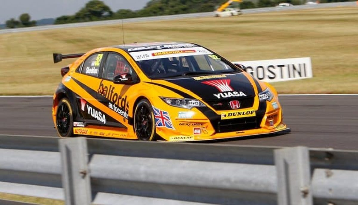 Gordn Sheddon, Honda Civic Type R BTCC