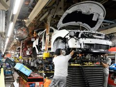 Brexit warning as Brit-built cars hit 18-year high