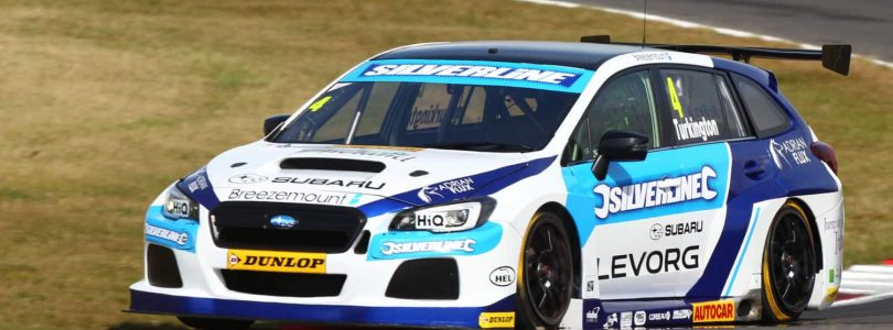 Subaru triumphs in BTCC battle with Honda