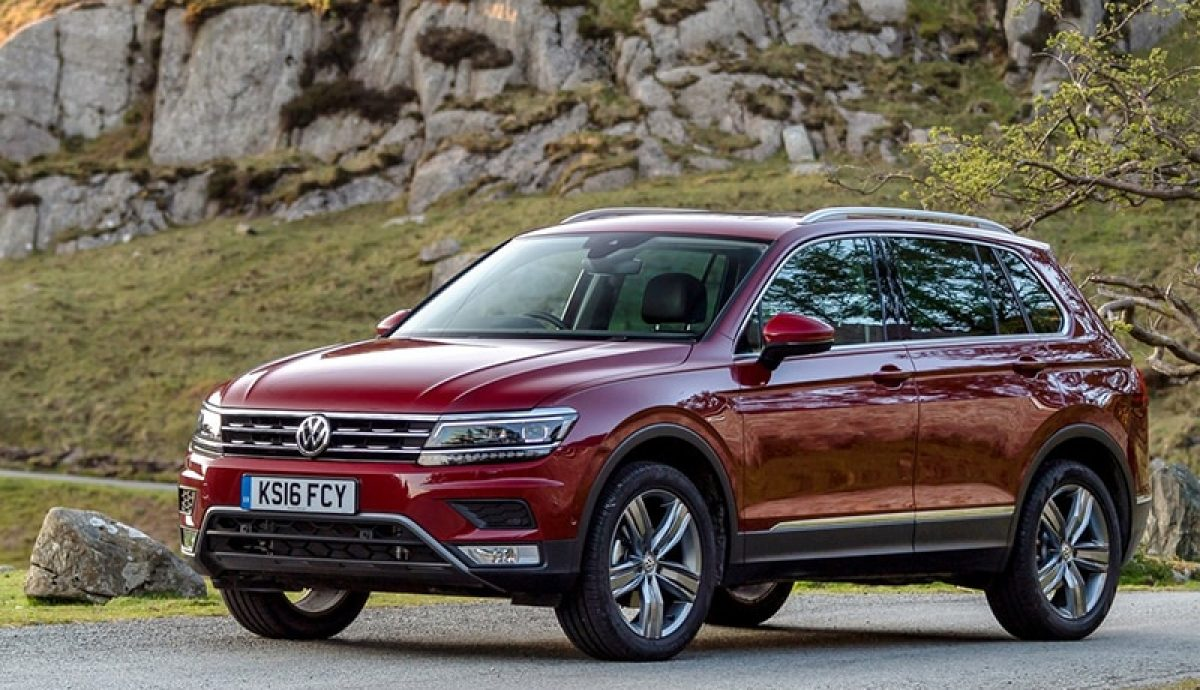 Volkswagen Tiguan SEL with Offroad pack