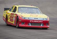 ARCX Ford Fusion NASCAR at Rockingham Motor Speedway