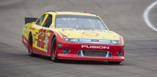 ARCX Ford Fusion NASCAR at Rockingham Motor Speedway