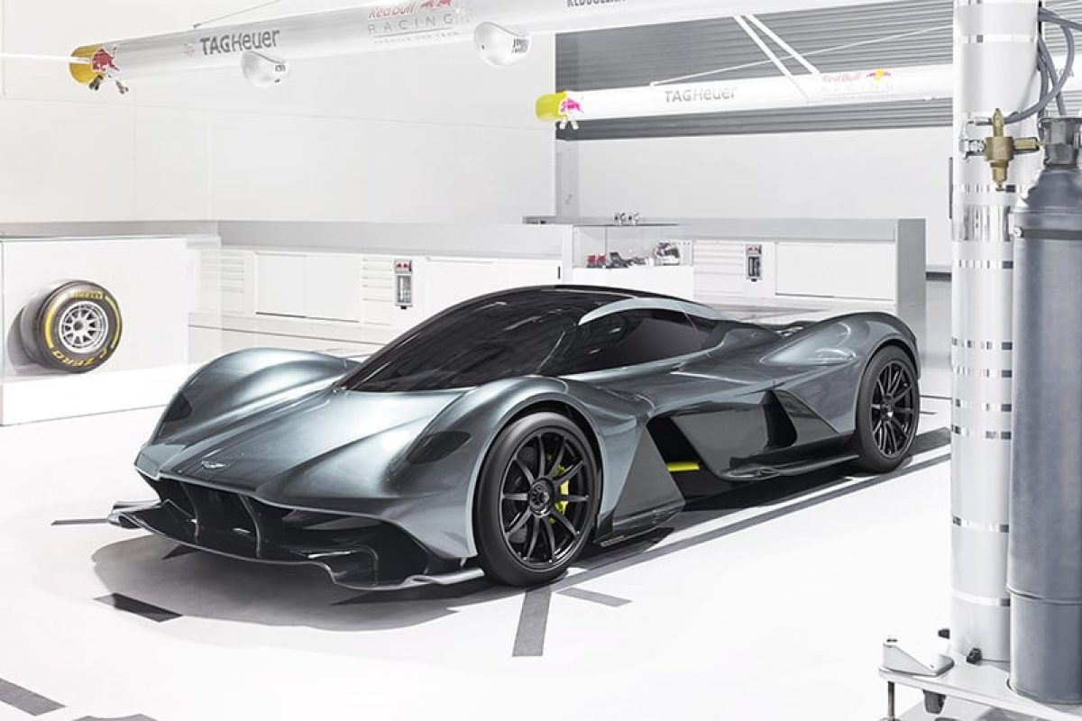 Aston and Red Bull reveal 'F1 road car'