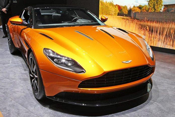Geneva show – Aston Martin debuts DB11 1