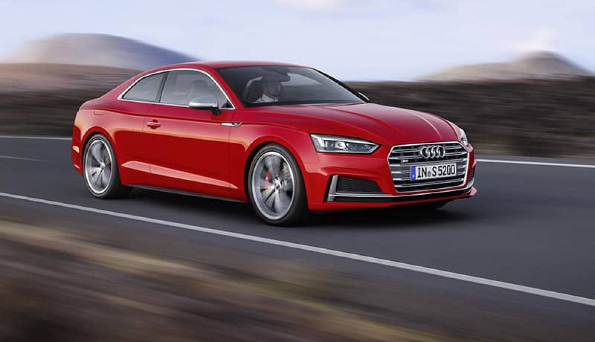 New sleeker Audi A5