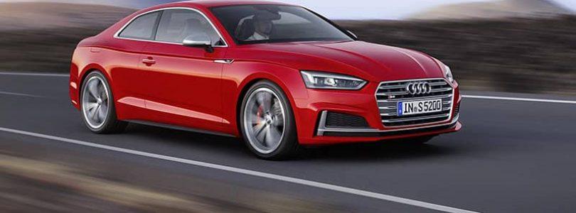 New sleeker Audi A5
