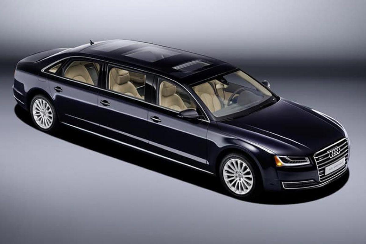 Audi stretches its longest car
