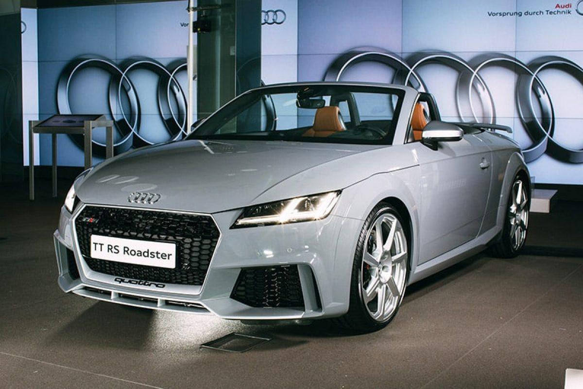 Audi's fastest TT drop-top debuts in UK