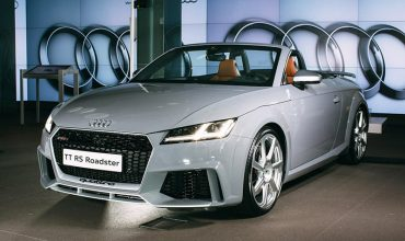 Audi's fastest TT drop-top debuts in UK